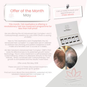 May Offer AQ Advanced Hair Complex+